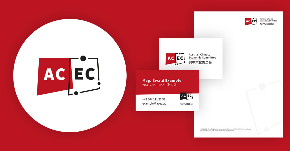 Austrian Chinese Economic Committee - Corporate Design