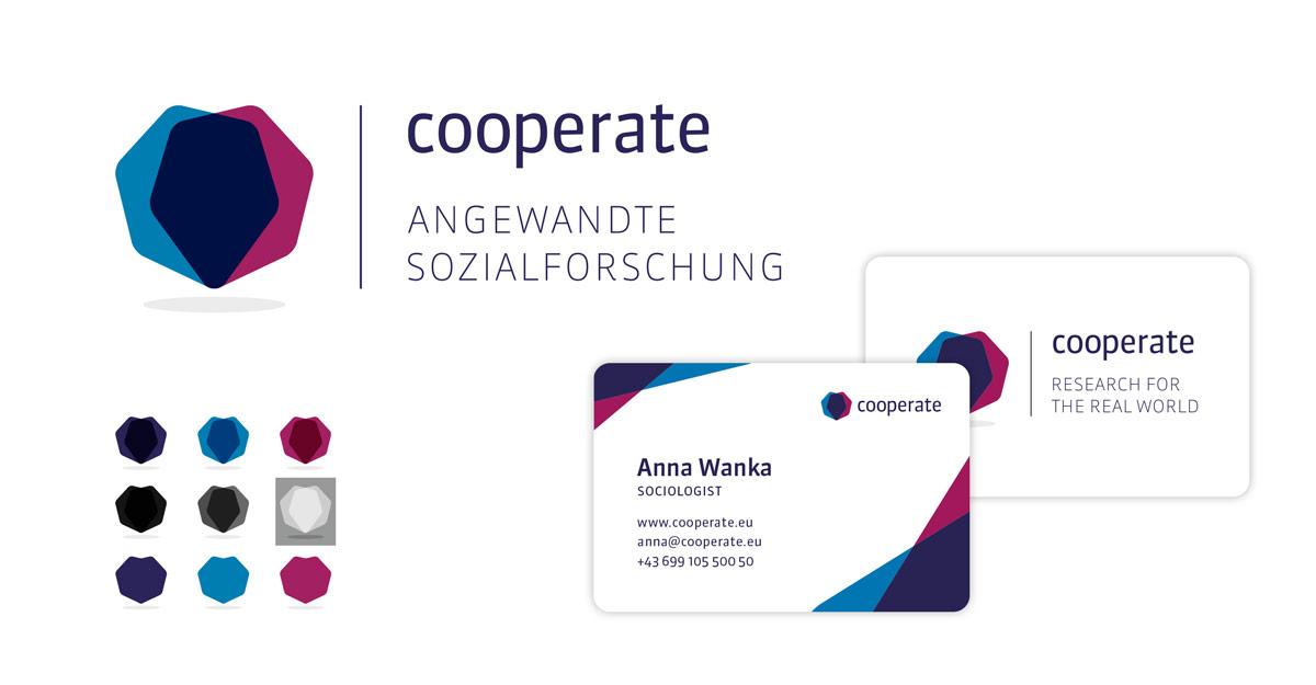 Cooperate Logo und Visitenkarten