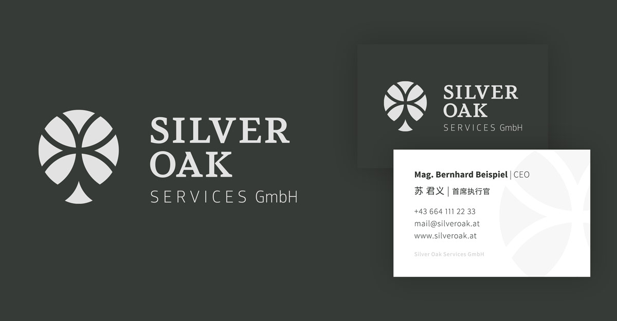 Silver Oak Services - Corporate Design