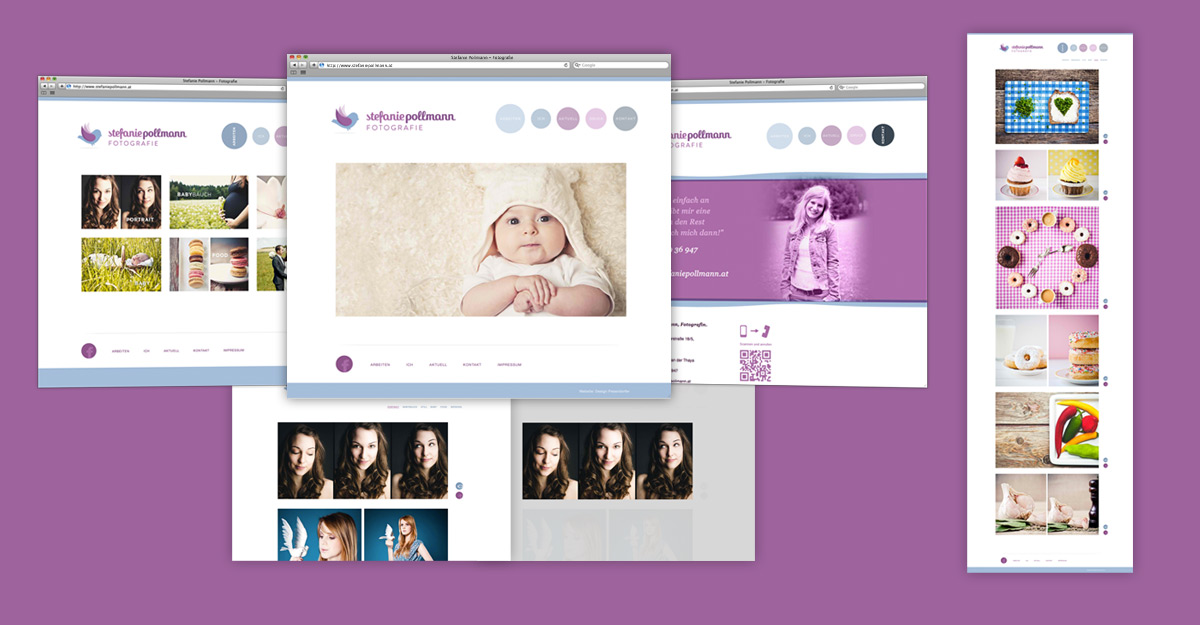 Stefanie Pollmann Corporate Design & Website